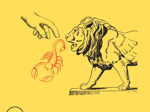 Il leone mortale!
