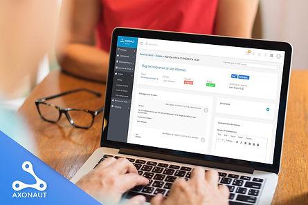 Axonaut logiciel de gestion ERP