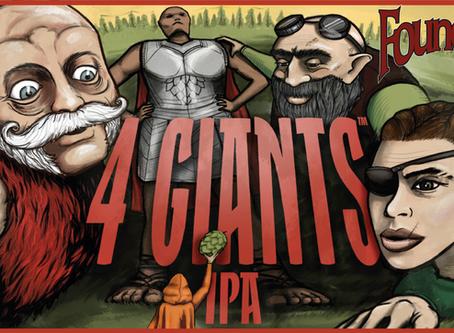 È arrivata la 4 Giants IPA di Founders!