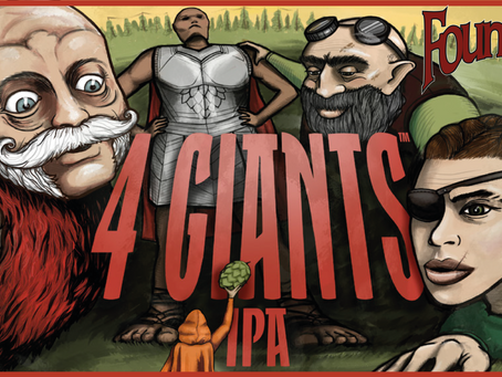 È arrivata la 4 Giants IPA di Founders!
