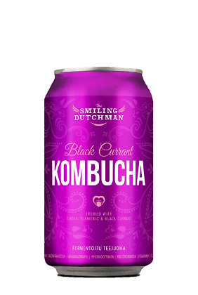 Kombucha Black Currant Ginger - 33cl