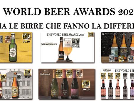 WORLD BEER AWARDS 2020 PREMIA LE BIRRE CHE FANNO LA DIFFERENZA!
