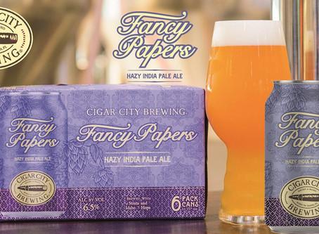 Fancy Papers. È arrivata un'altra fantastica Hazy IPA di Cigar City!