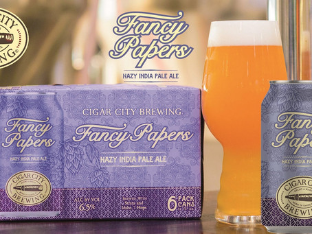 Fancy Papers. È arrivata un'altra fantastica Hazy IPA di Cigar City!