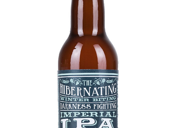 The Hibernating Winter Biting Darkness Fighting Imperial Ipa - 33cl