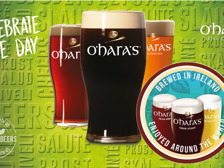 Celebrate the day! Celebrate the O'Hara's Irish Craft Beer!