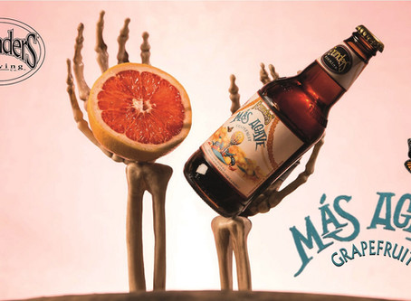 Il gusto esotico di Más Agave Grapefruit di Founders Brewing Co.