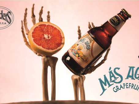Il gusto esotico di Más Agave Grapefruit di Founders Brewing Co.