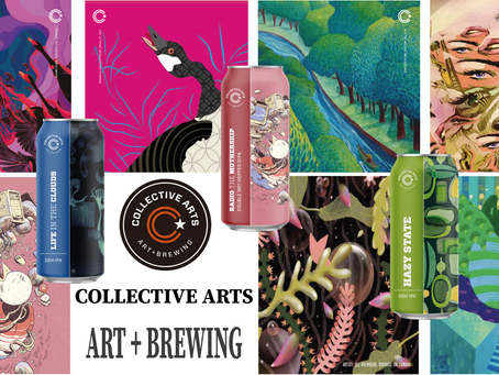 Collective Arts Brewing! Non solo birra, ma Art + Brewing!