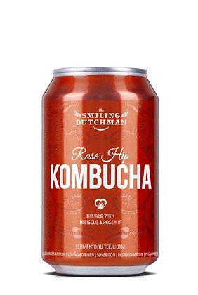 Kombucha Rose Hip & Hibiscus - 33cl