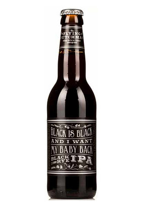 Black Is Black And I Want My Baby Back Black Rye Ipa- 33cl