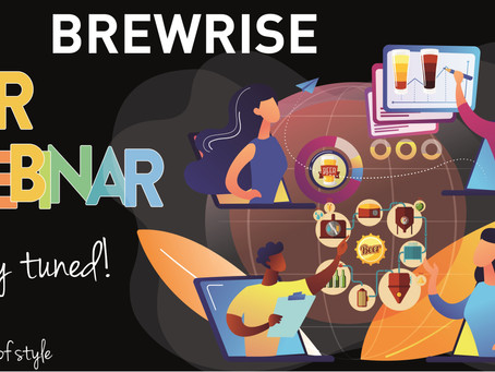 AL VIA I BREWRISE BEER WEBINAR!