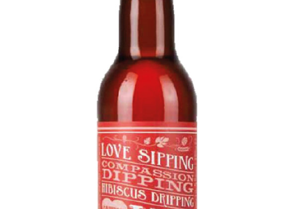 Love Sipping Compassion Dipping Hibiscus Dripping - 33cl