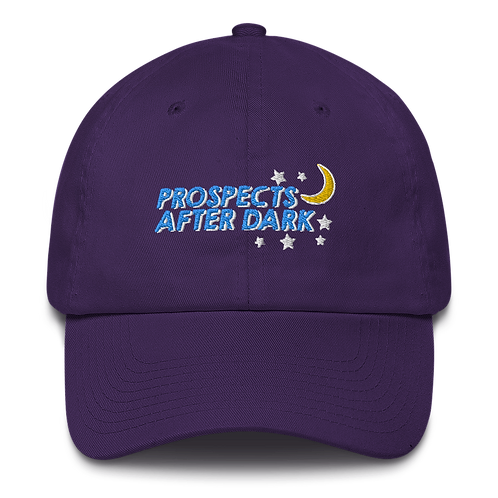 Prospects after Dark - Cotton Cap with Adjustable strap