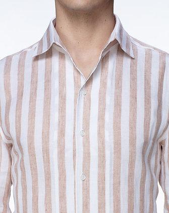 Skjorte med striber