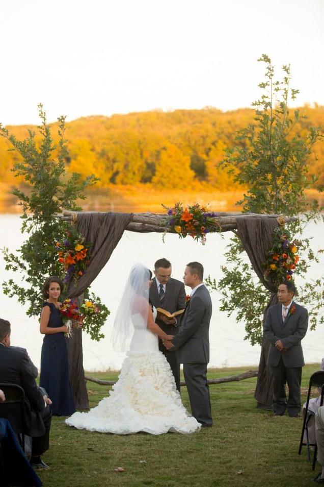 October | Lawn Ceremony
