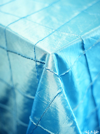 Pintuck Pool Blue