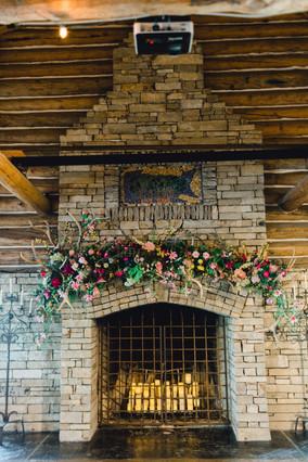 Summer 2019 Fireplace Mantel