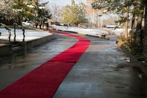 Red Carpet Walkway