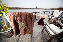 Five Oaks Lodge Deck   November