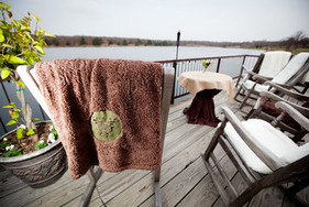 Five Oaks Lodge Deck | November