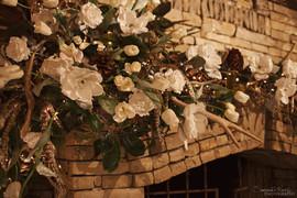 January Fireplace Mantel