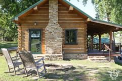 Cabin Exterior   South