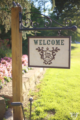 Front Gate Entrance Sign
