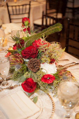 Christmas Floral Detail
