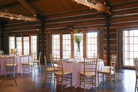 Dining Table Linens: Ice pink Polyester Napkins: White Cotton Photo Credit: Sarah Baker Photos