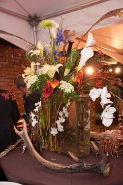 Buffet Table Floral