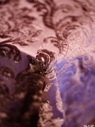 Purple Plum Velvet Damask