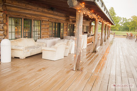 Lodge Deck | Rain in October