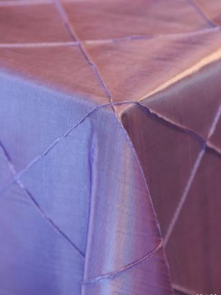 Lavendar Pintuck Overlay