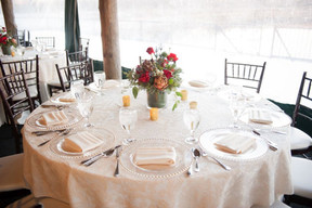Outdoor Tables (inside tent)