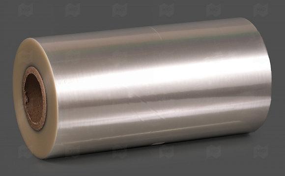 Плёнка для запайки ПЭТ контейнеров 320мм/52мкм/400м.п.,пиил-эффект, средний барь
