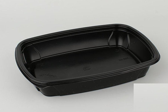 Ланч-бокс СпК-230-37мм черный 700мл (100) / ПолиЭр