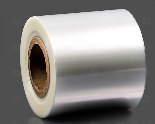 Плёнка для запайки ПЭТ контейнеров 240мм/45мкм/625м.п., peel-эффект, высокий бар