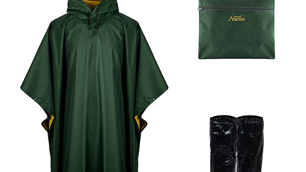 Double sided 3in1 Rainponcho