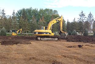 Excavation et terrassement