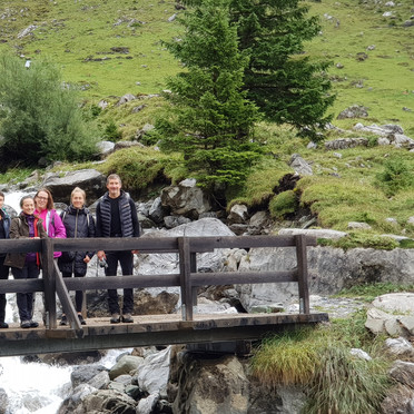 unterwegs zum Oberbergli