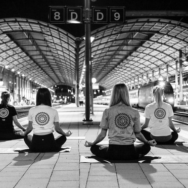 Meditation Bahnhof Olten