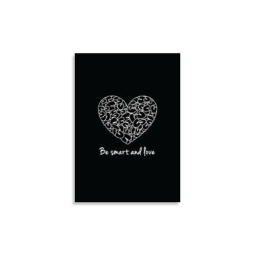 הדפס - Be smart and love