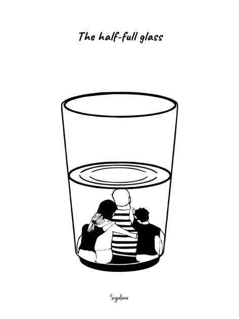 The Half full Glass