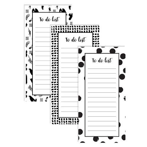 Printable - To do list - 3 designs