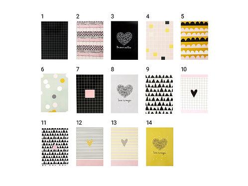 SALE - 4 Designed Notebooks in 45% discount