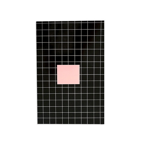 Notebook - Pink square