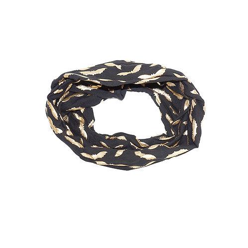 Gold bats scarf