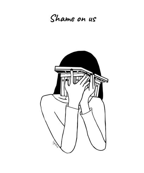 Shame on us