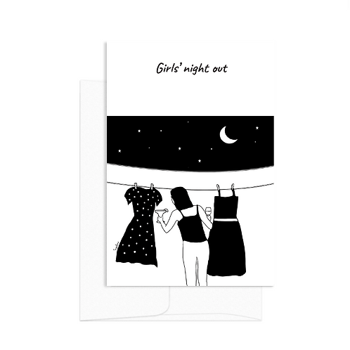 Card - Girl's night out